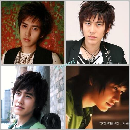 #picspam Kyu's hairstyle jaman jadul~kk who fav this one? (cr: kyuori) http://t.co/1gJNxIKnH6