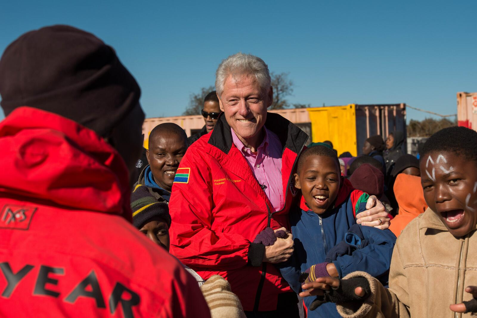 Excited to travel to Africa soon with the @ClintonFdn. Here's one of my favorite moments from last year's trip: http://t.co/ddGwk7AgfU
