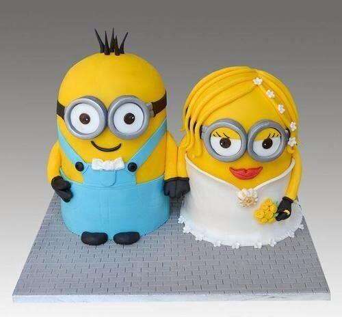 I now pronounce you minion and wife! http://t.co/YkQh5s0RJj