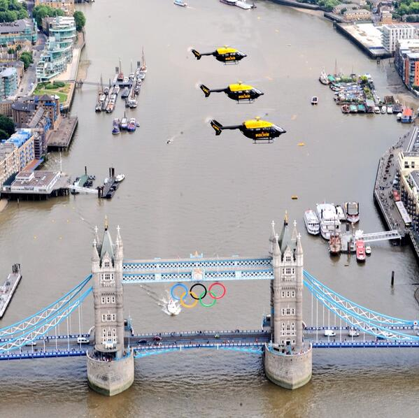 London's Police Helicopters policing London 2012 #AnniversaryGames #London http://t.co/fQZM3EB9Mo