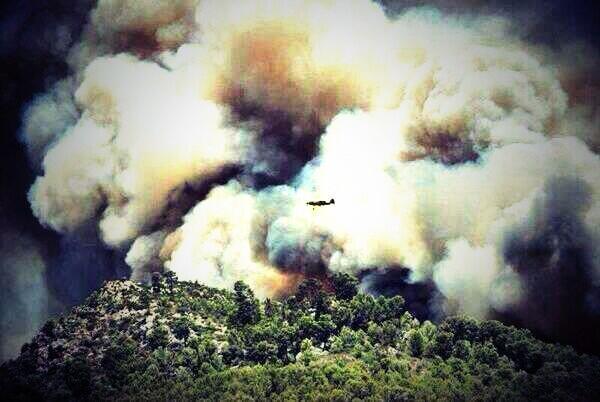 Juanjo fraile (@Juanjofraile): Sobran las palabras... #incendio  #Mallorca http://t.co/H5PzPS4RjT
