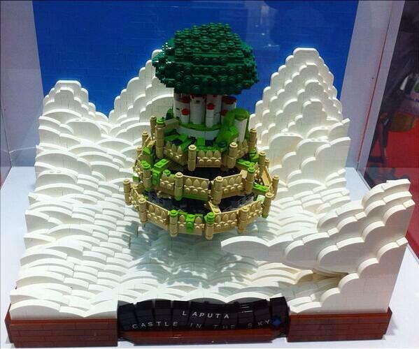 LEGO(レゴ)で天空の城ラピュタ