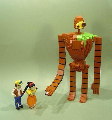 クオリティーが高い、レゴ版のラピュタ