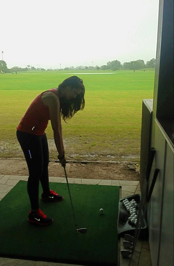 I always wanted to understand wats so pleasure in playing golf!?finally tried my best to get the hang of it!damm! http://t.co/vFiesxu7ks
