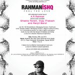Feel the love! RT @rahmanishq: #Ahmedabad join us today at Radisson Blu with @Arrahman, Press Conference for tour http://t.co/XVKvm1R0l5