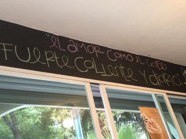 Vivian Silberstein (@vsilberstein): ....el amor como el café... http://t.co/LzryEkMw0o