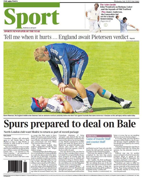 BQc7EmBCAAAnvJy Spurs want Luka Modric back as part of Bale deal & could move for Luis Suarez