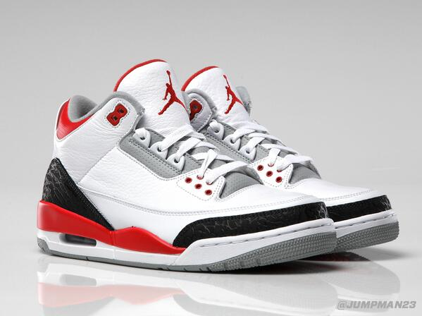 Perfectly repping the Chi, an OG returns this Saturday with the 'Fire Red' Air Jordan 3 Retro: http://t.co/HvpSWSuS1m