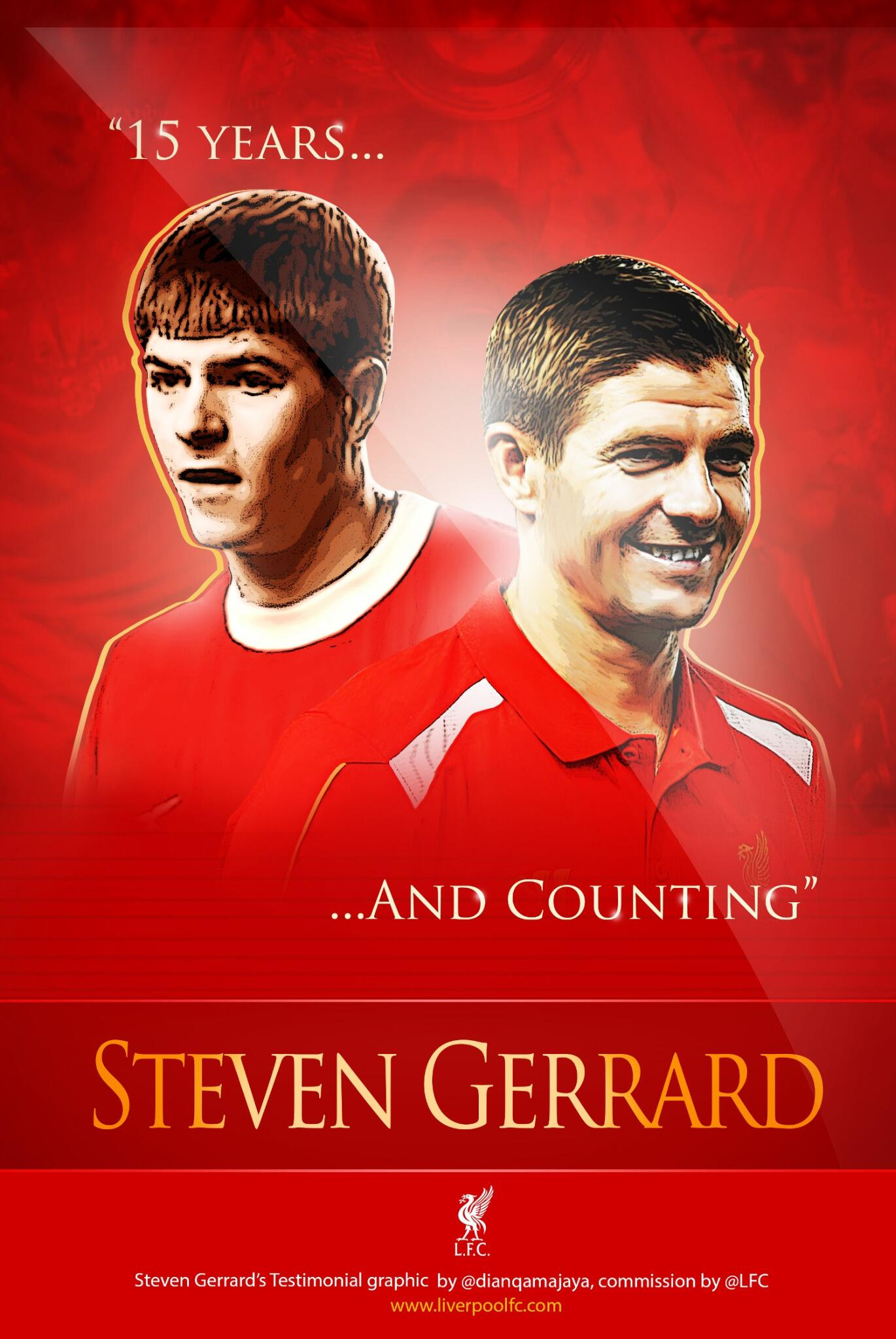 15 years and counting... #GerrardTestimonial http://t.co/EoCaD7MfMs