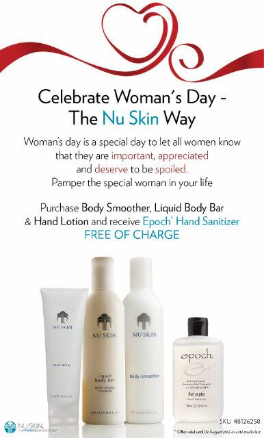 Make the women in your life feel special this #womansday with a special offer from Nu Skin http://t.co/9VepJe1EbK