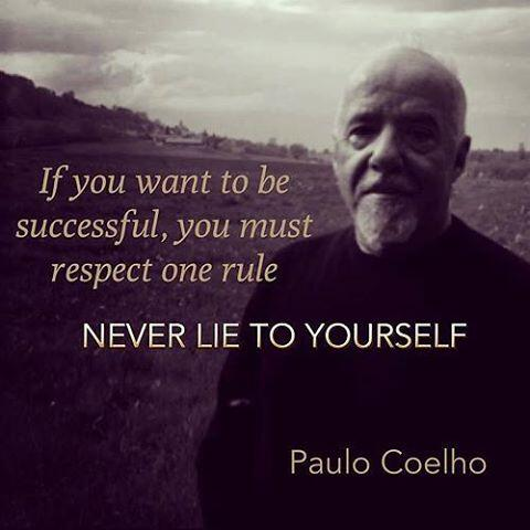 If you want to win, you must respect ONE rule: never lie to yourself http://t.co/1Xjr7aseLu
