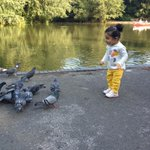 She loves birds... :) :) http://t.co/IlcxTn2LRy