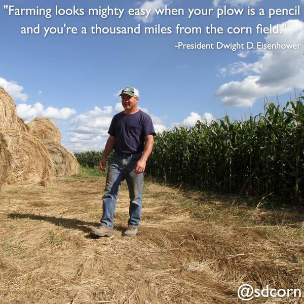 With all of the attacks on #‎agriculture today, this quote still rings true more than 50 years later. http://t.co/KrOCIqNY1M