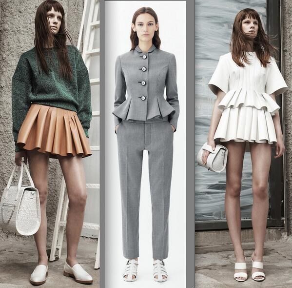 RT @meiklie: volume, pleats & peplums for #Resort14 at Alex Wang & Chris Kane @glamour_fashion http://t.co/mmM7FHo4aq