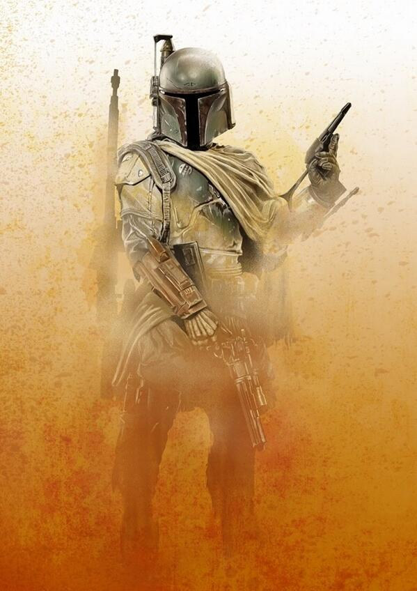 I love a nice Boba Fett drawing. Check out this beauty from @LifeInMin http://t.co/fIDsQmv51x
