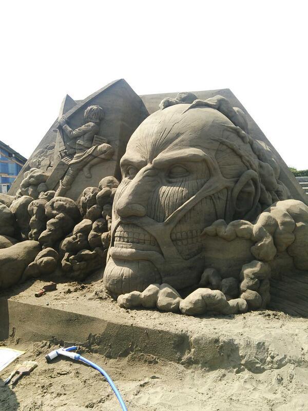 巨人@江の島東浜