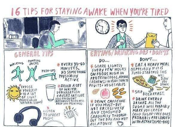 #124 How to stay awake when you're tired.. http://t.co/uH2MxbKWAZ