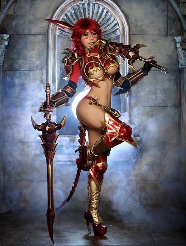Magnifique cosplay (Tasha) ! http://t.co/KeQeSkXRGx