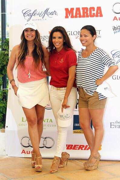RT @EvaLSource: @EvaLongoria @alinaperalta @MariaRBravo at @GlobalGiftGala Celebrity Golf Tournament2013 on August 3,2013 in Marbella http://t.co/MF3Ni9dhHI
