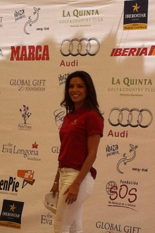 RT @SianbrettBrett: Huge celebrity golf event at la Quinta golf yesterday. Hosted by @EvaLongoria http://t.co/MyoMR4EGm5