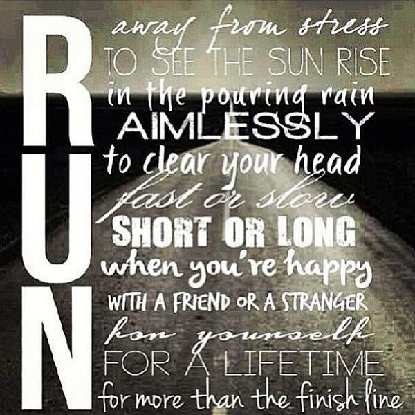 What is your reason for running today? http://t.co/WovecPn3ZZ