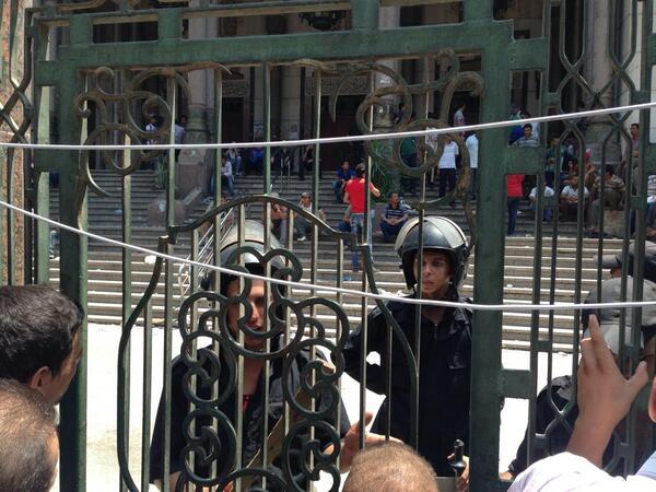 Samedi 17 août 2013 / Les événements en Egypte après le coup d'état militaire