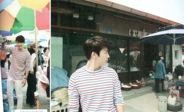 [Pic] Super Junior's Experience Korea - Donghae at the market. cr: _SSOOONG http://t.co/nRi4Zx58o5