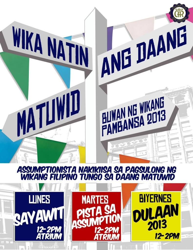 Wikang filipino tungo sa tuwid na daan essay outline