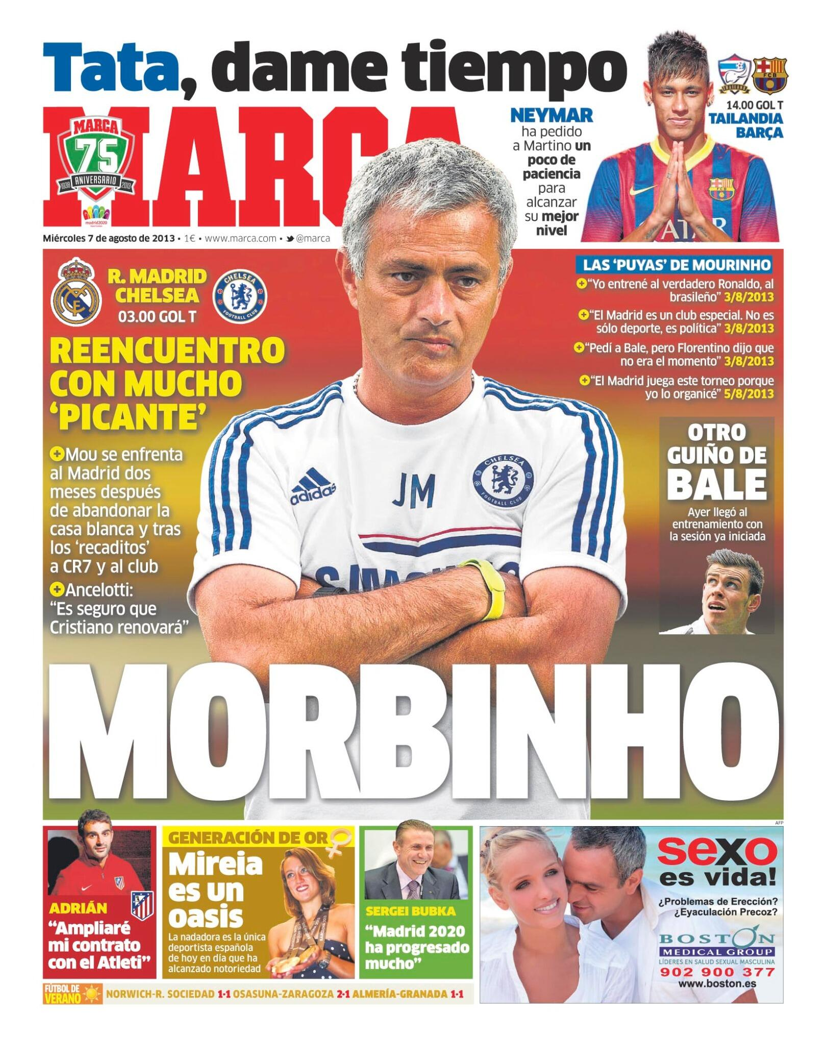 #LaPortada 'Morbinho' http://t.co/mcPgEZzw4v