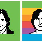 Thanks @susankare love the icons http://t.co/3JRBts0Qte #JobsMovie