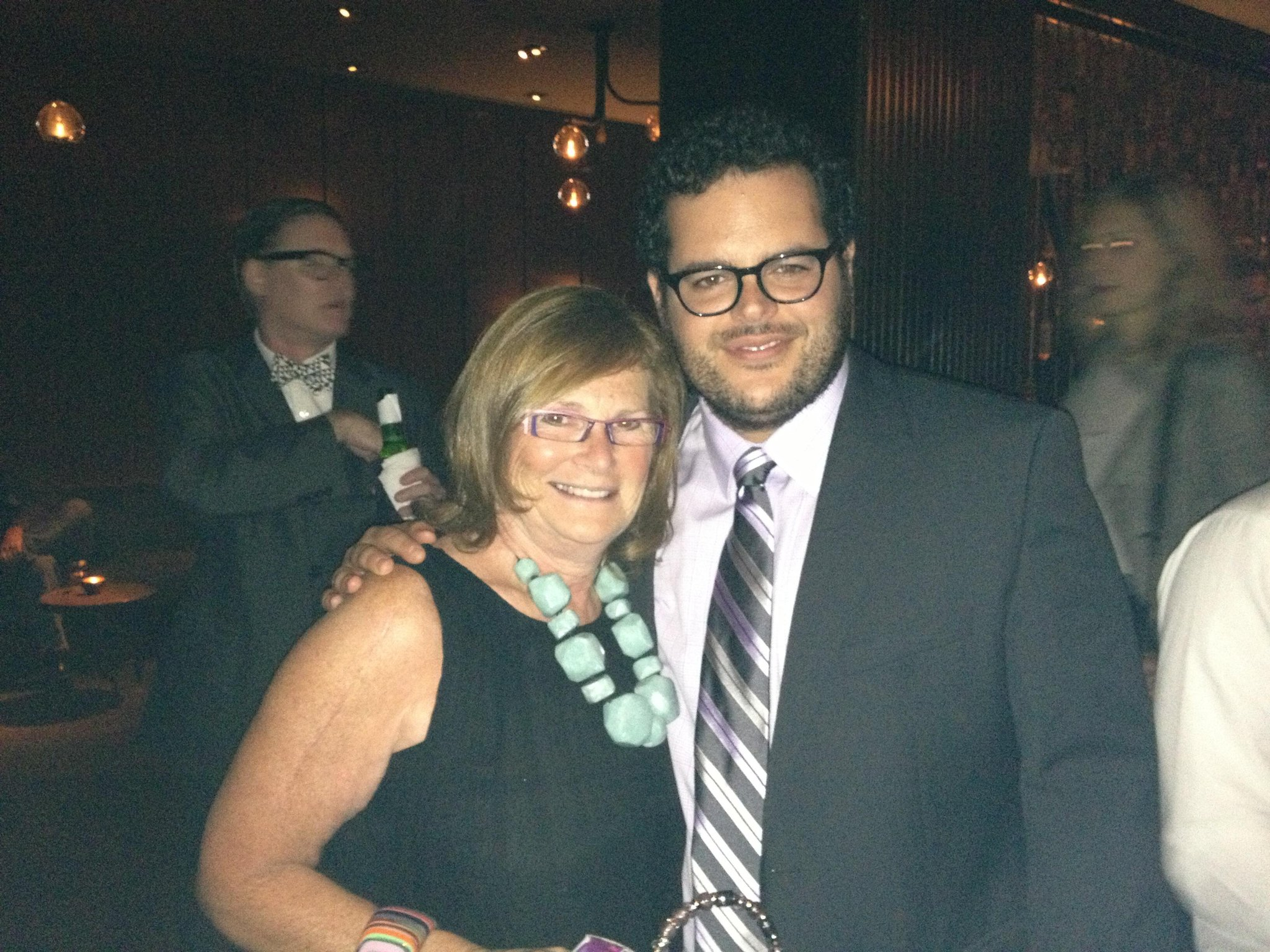 Myla Lerner josh gad at the Opening of Jobs http://t.co/0UjUwv4DMw