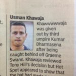 The person at the desk felt Awww for Khawaja... http://t.co/hB5RxEFdW4