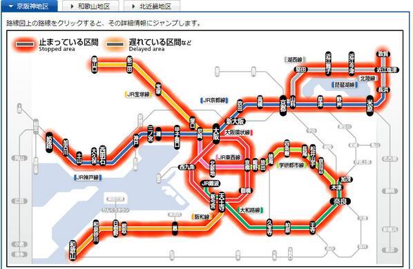 台風19号の影響で大阪駅が無人に\u2026 そんな中ヲタ芸をする集団が!