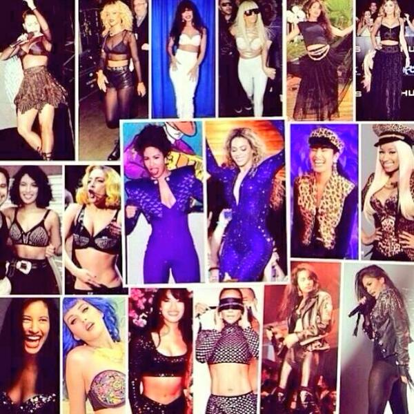 WHOA! RT @missjournalism: interesting. RT @Ricanblasianma1: And never forget Selena Taught All These Bitches http://t.co/YRi5FKKWs4