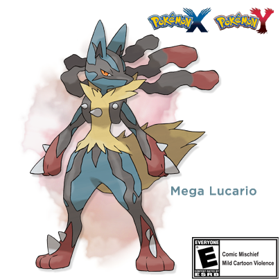 Retweet if you're excited about Mega Lucario! #PokemonXY http://t.co/1iOLjfpM8g
