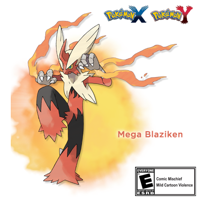 Retweet if you're excited about Mega Blaziken! #PokemonXY http://t.co/vvYD7cCbgz
