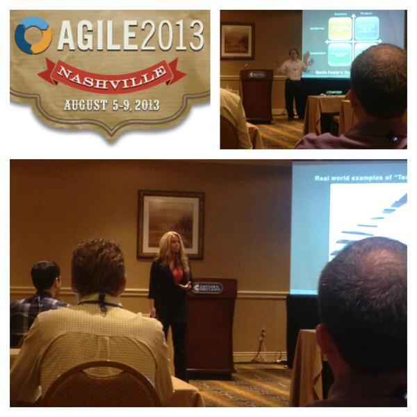 Love this photo from Agile 2013 #agile2013 @ [pic] --