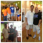 Blown away by how many Kentucky born and UK graduates came by to say hi at the Orange Leaf in Massachusetts. http://t.co/zo9VIYAs42