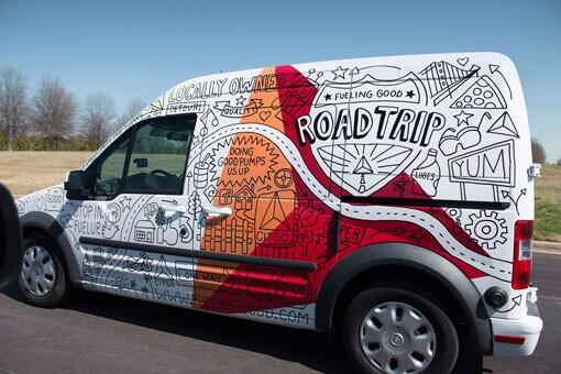 "Welcome #FontSunday It's fonts on vans today ""@jubaloo_: Road trip anyone? Great van wrap design by @timothyogoodman http://t.co/B1i9K468tJ"""