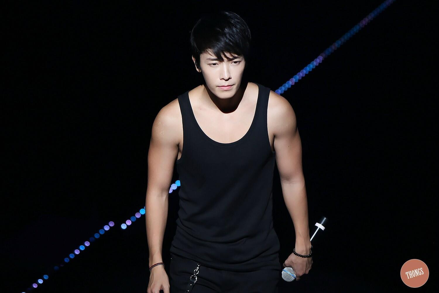 [130810/HQ] #SS5TaiwanDay1 Donghae >o<!! [Thongz] http://t.co/EnoIVccGUw