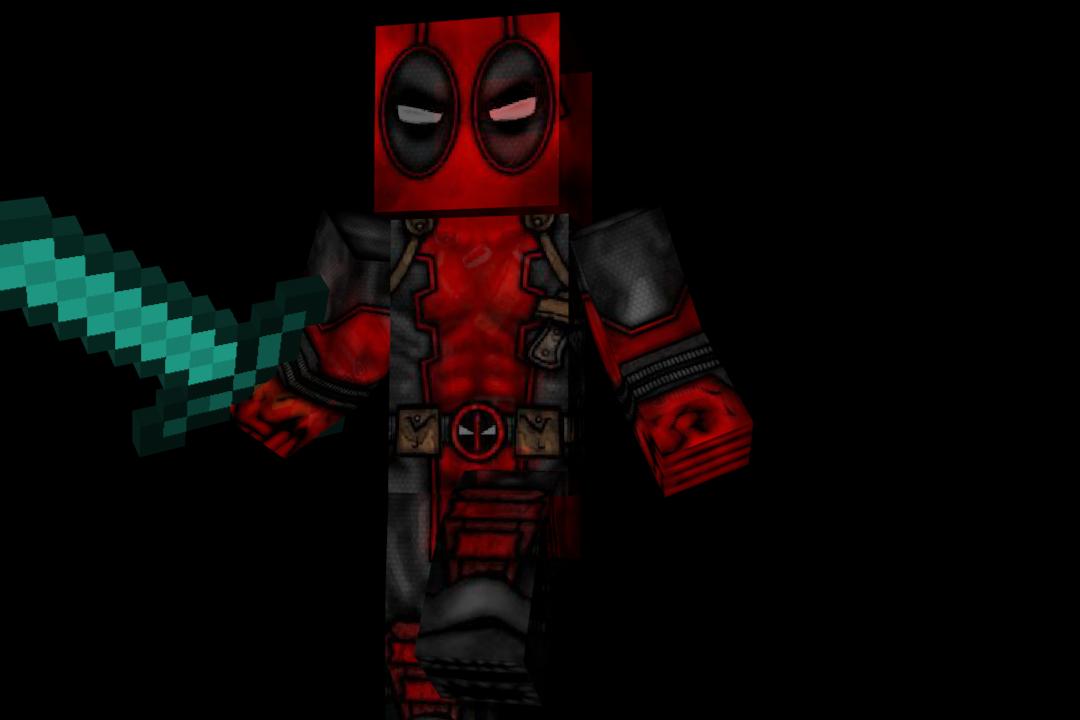 Download Skin Deadpool Minecraft Kdrive Download - Deadpool skins fur minecraft