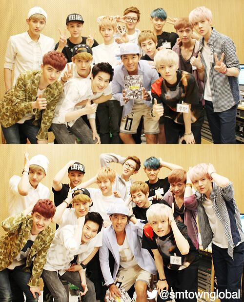 #EXO at SBS Radio 'Boom's Young Street'(@Boom2AYo) http://t.co/Af4ippdmYF