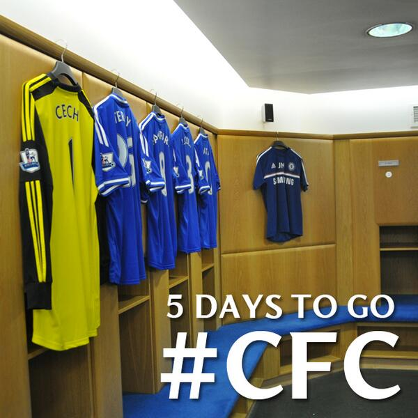 Not long...#CFC http://t.co/JZAXKwKKMc