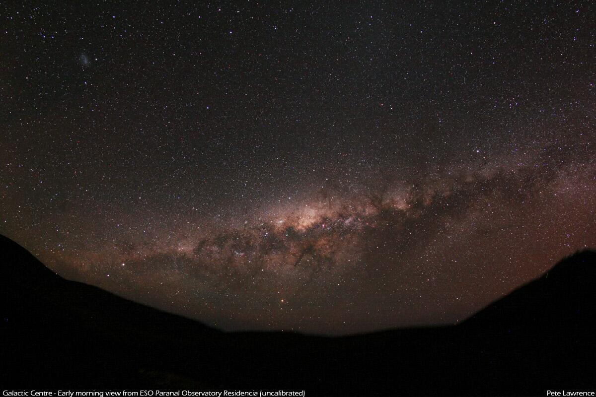 RT @Avertedvision: Here's a taster shot of the Milky Way's core from early this morning... http://t.co/t8C1DorA9l