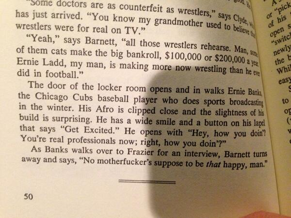 Ernie Banks lived a helluva life. I loved this anecdote from Bill Bradley's book as a player. He was always happy. https://t.co/WQZyrQZ6uM