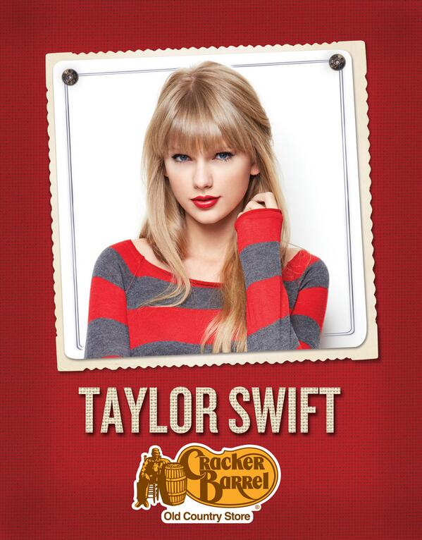 Exciting news! Head to your local @CrackerBarrel to find a selection of Taylor Swift merchandise today! http://t.co/koydNRvMIu