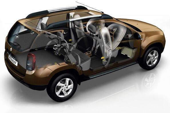 Renault Duster tiene la mejor seguridad, cuenta con bolsas de aire para conductor, pasajero y cinturones de seguridad http://t.co/uSay9Spl4q