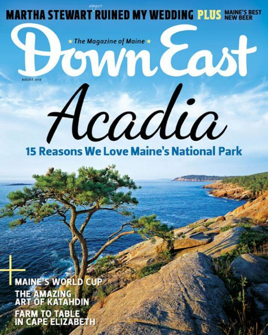 What a good-looking tree that is on our August cover! On newsstands through the 27th. #Maine #magazine http://t.co/tv7aK3cVDu