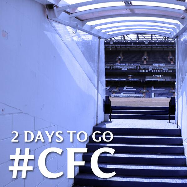Two days remain....#CFC http://t.co/mHH61r2ykP