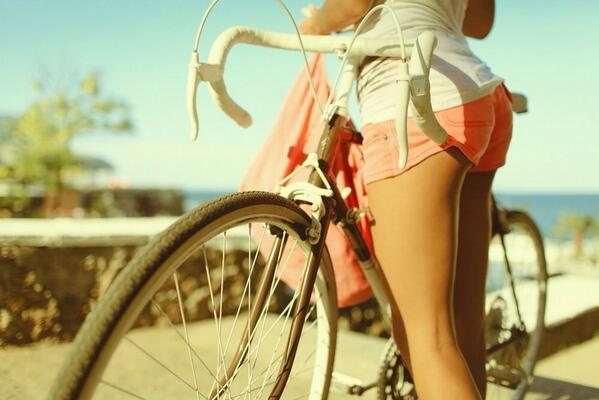 bicycle, cute, summer 💕 http://t.co/GPgiwcA9AM